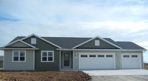 Floor plan vans realty construction albany 1405 sq ft w 3 car garage malvernweather