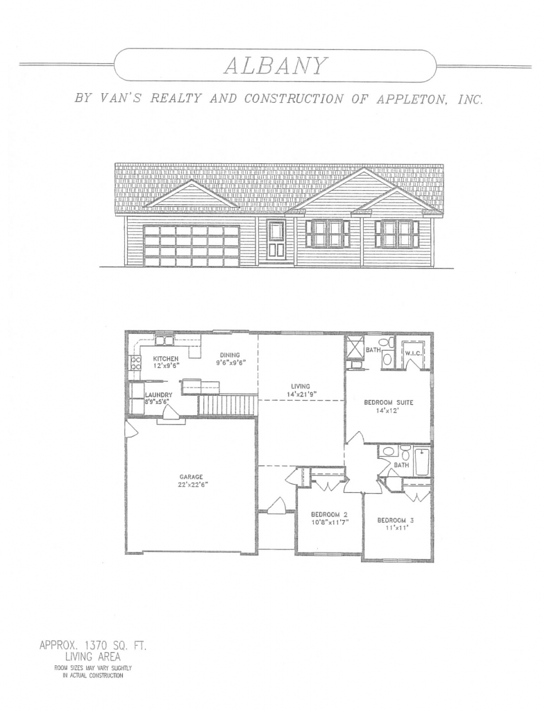 Floor Plan | Van's Realty & Construction on coastal home plans, small one bedroom house plans, one-bedroom mobile home plans, ocean front home plans, 2 room home plans, duplex home plans, 1 house plans, 16 bedroom home plans, 800 square feet home plans, 600 square feet home plans, luxury home plans, 1 floor home plans, 3 bed home plans, 1 level home plans, 2 bedroom ranch home plans, 15 bedroom home plans, 4 bedroom 3 bathroom house plans, 1 br home plans, best one bedroom house plans, one story four bedroom house plans,